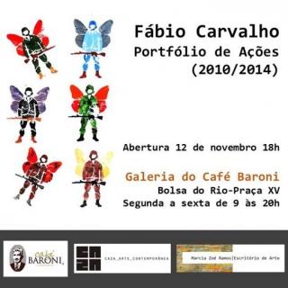 Fábio Carvalho   Portfólio de Ações - 2010/2014