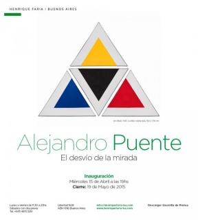 Alejandro Puente, El desvío de la mirada