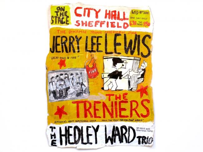 """Jerry Lee Lewis"", 2017"