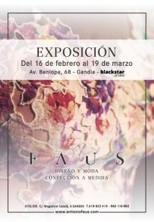 Cartel Exposición Faus