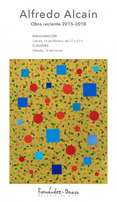 Alfredo Alcain. Pinturas, 2016-2018