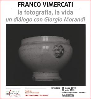 Franco Vimercati: la fotografía, la vida. Un diálogo con Giorgio Morandi