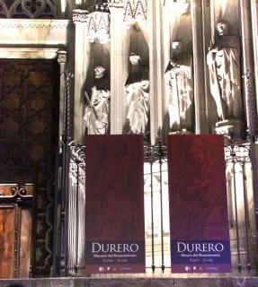 Fachada Catedral de Barcelona-Exposición Durero