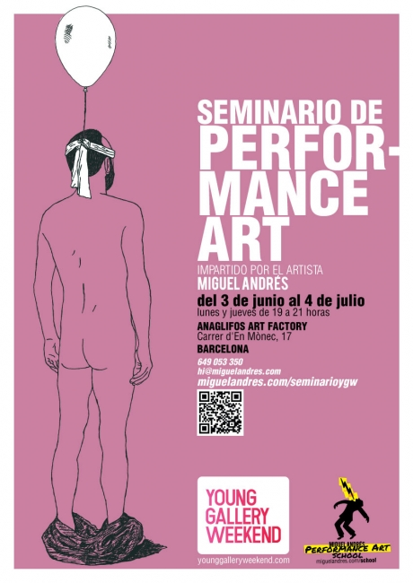 Seminario de performance art Young Gallery Weekend