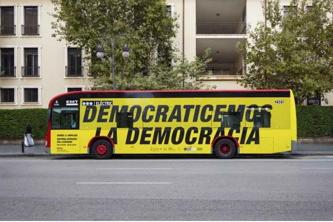 Encontre-Taller Democraticemos la democracia — Cortesía del Consorci de Museus de la Comunitat Valenciana
