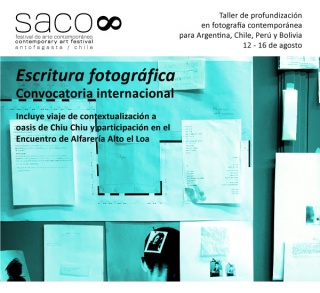 Taller de profundización en fotografía contemporánea para la macro zona del Altiplano