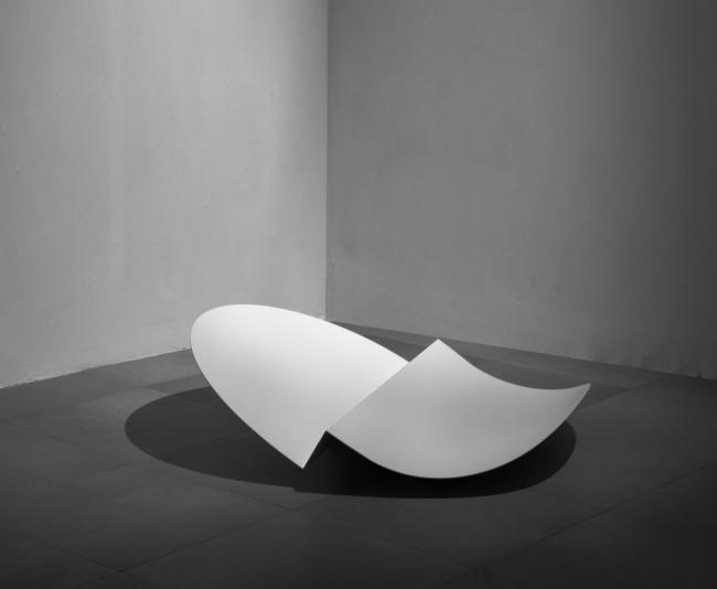 Carmen Ortiz. Hoja en blanco — Cortesía de la Asociación de Galerías de Arte Contemporáneo de la Comunidad Valenciana (LaVAC)