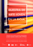 Cartel convocatoria XXXVI Muestra de Arte Joven en La Rioja, 2020
