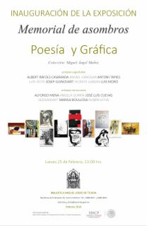 Gráfica y poesía española - mexicana