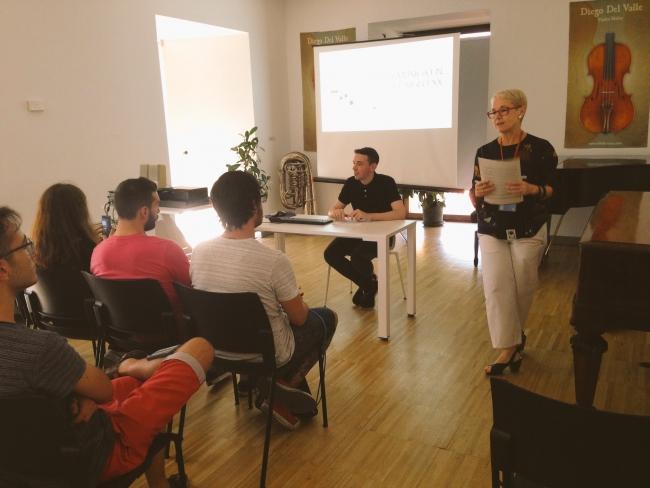 Conferencia de Aitor Merino Martínez