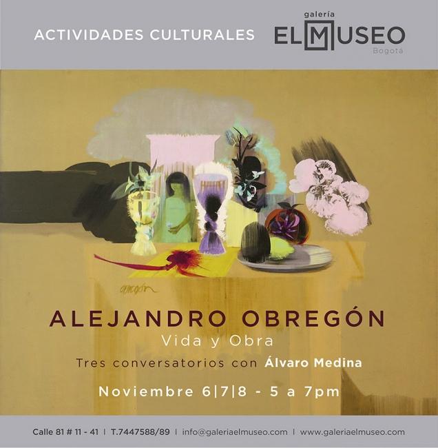 Charlas con Álvaro Medina. Imagen cortesía Galería El Museo