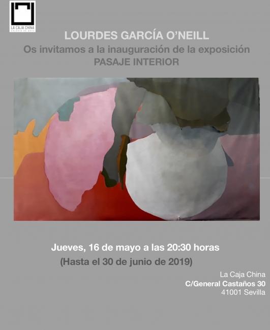 Lourdes García O'Neill. Pasaje interior