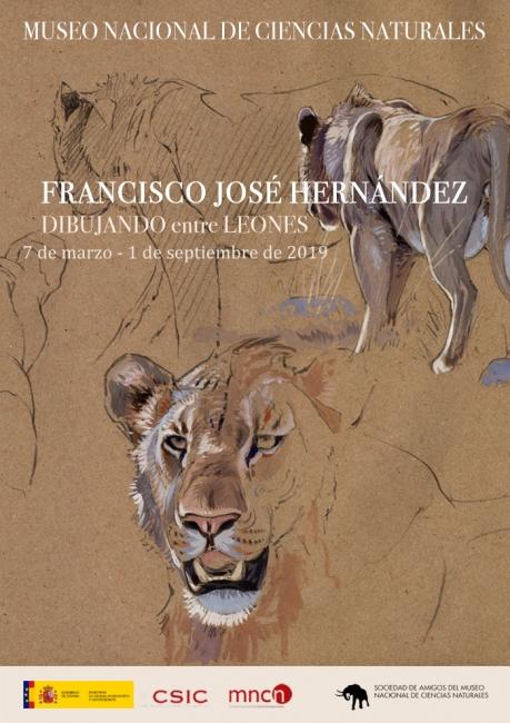 Francisco José Hernández. Dibujando entre leones