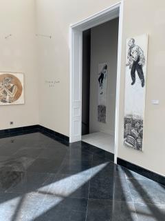 Exposición de Javier de Juan en la galería Isolina Arbulu — Cortesía de la galería Isolina Arbulu