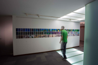 Horizonte vertical. Proyecto expositivo Landscapes from nowhere
