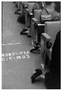 Ramón Masats. Misa de madres de la división azul, 1957