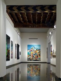 Vista de la exposición «15 años no es nada» — Cortesía de la Fundación Chirivella Soriano