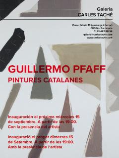 Guillermo Pfaff. Pintures Catalanes