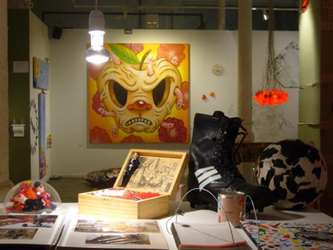 Inoxidable en Galería Iguapop. Barcelona. España