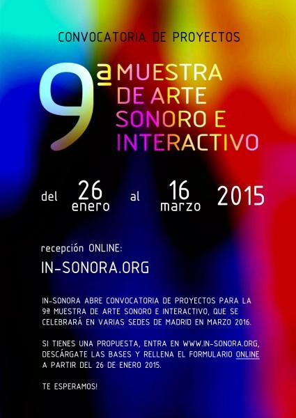 Convocatoria IN-SONORA 9