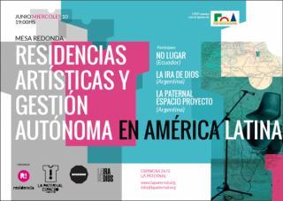 RESIDENCIAS ARTÍSTICAS Y GESTIÓN AUTÓNOMA EN AMÉRICA LATÍNA