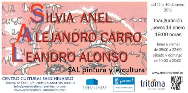 SAL Exposición Silvia, Alejandro, Leandro