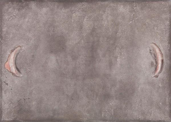 Antoni Tàpies,  Paréntesis rosa sobre gris, 1965