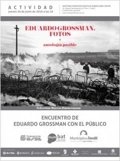 Encuentro de Eduardo Brossman con el público