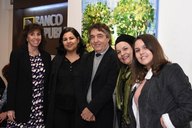 Carla Mourão, Marilsa Lucena, Rosangela Lucena e João Gomes