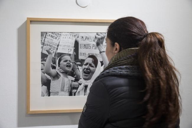 Imagen de la exposición en Mendoza — Cortesía del Museo Nacional de Bellas Artes (MNBA)