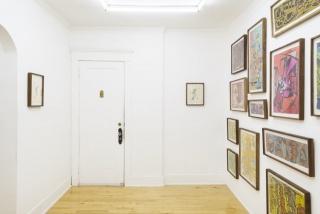 Vista de la exposición. Cortesía de la galería