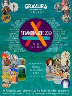 Atlântida Arte 2019. Imagen cortesía Gravura Galeria de Arte