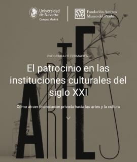 El patrocinio en las instituciones culturales del siglo XXI