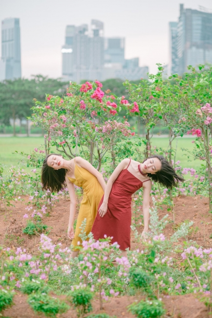 Ang Hwee and Chen Yiwen, serie High Tide©Audrey Kwok