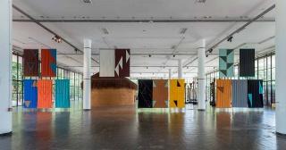 Felipe Mujica, Las universidades desconocidas, 2016, 32 Bienal São Paulo. Edouard Fraipont, Casa Triangulo — Cortesía de Art Barcelona