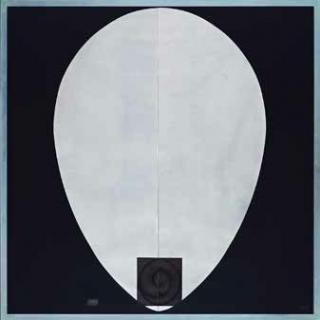 Afrocan negro, 1990 grabado, PA 1/3 200 x 200 cm © Marti?n Chirino, VEGAP, Madrid 2020 — Cortesía de la Galería Marlborough