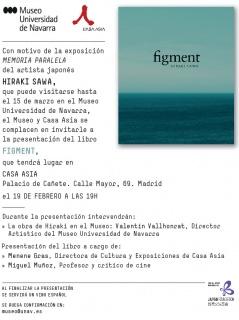 """Presentación del libro """"figment"""""""
