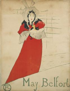 Henry de Toulouse-Lautrec. May Belfort, 1895. Museu Nacional d'Art de Catalunya — Cortesía del MNAC