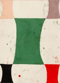Sabine Finkenauer, S.T.(1), 2020. Pastel al óleo sobre papel, 70 x 50 cm. — Cortesía de la galería Antonia Puyó
