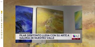 Pilar Debitonto @ Gallery Andrea (Univision interview)
