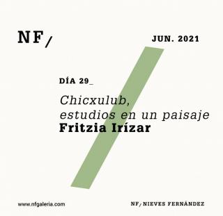 Fritzia Irizar. Chicxulub, estudios en un paisaje