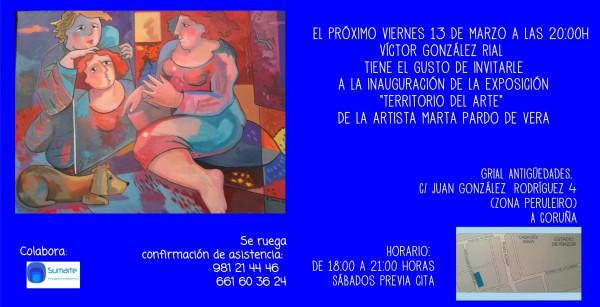 Territorio del arte. Marta Pardo de Vera