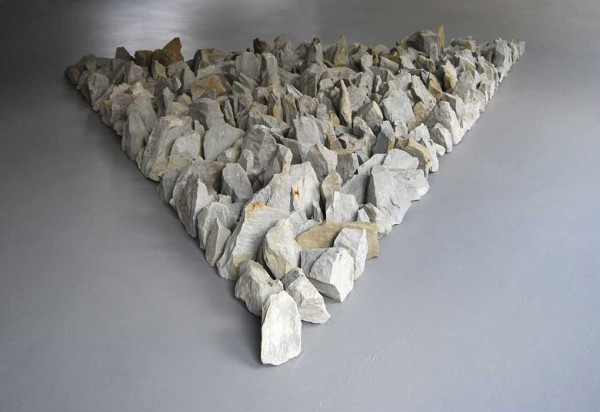 Richard Long, Münsterland Stones, 2008