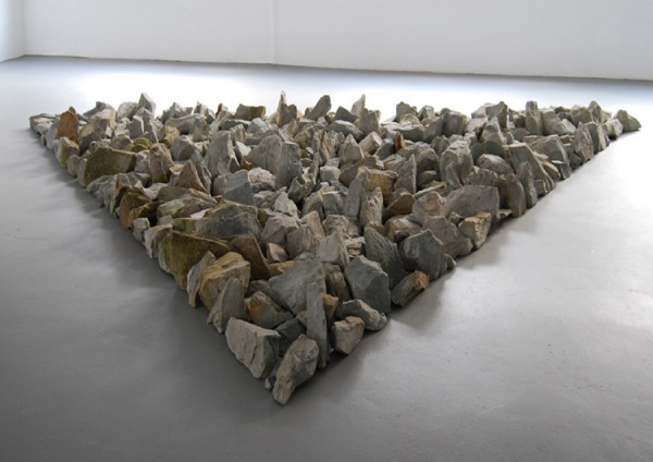 Richard Long, Münsterland Stones, 2008
