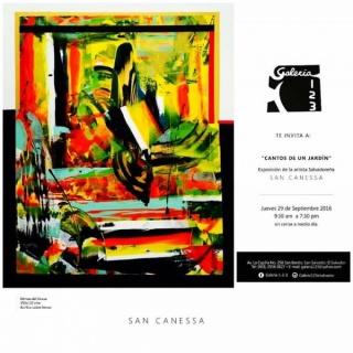 San Canessa, Cantos de un jardín