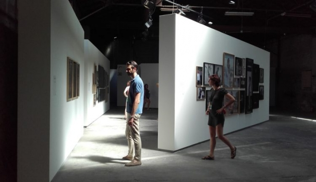 """Exposición """"Mathieu Pernot, les Gorgan"""", Rencontres de la Photographie, Arles, 2017"""