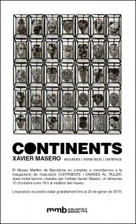 Xavier Masero. Continents i Onades al taller