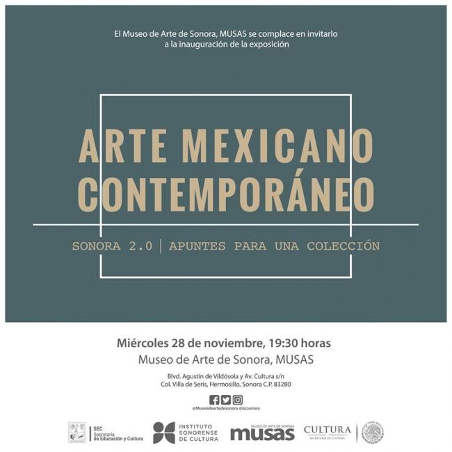 Arte Mexicano Contemporáneo, Sonora 2.0 apuntes para una colección