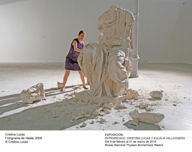 "Cristina Lucas, Fotograma de ""Habla"", 2008 © Cristina Lucas — Cortesía del Museo Nacional Thyssen-Bornemisza"