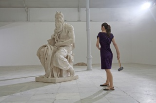 Cristina Lucas, fotograma de Habla (2008) — Cortesía del Museo Nacional Thyssen-Bornemisza